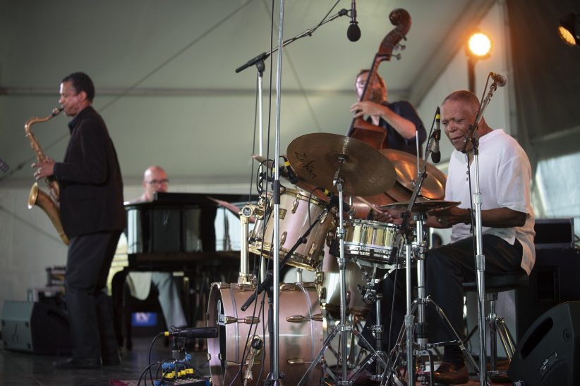 The Billy Hart Quartet at the 2019 Newport Jazz Festival