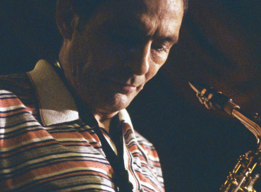 Art Pepper in 1980. (photo: Jan Persson/CTS Images)