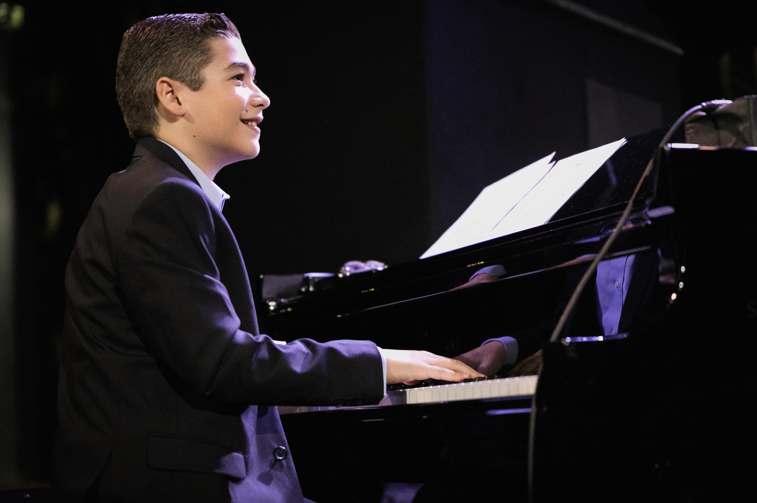 Brandon Goldberg is the Little Piano Man - JazzTimes