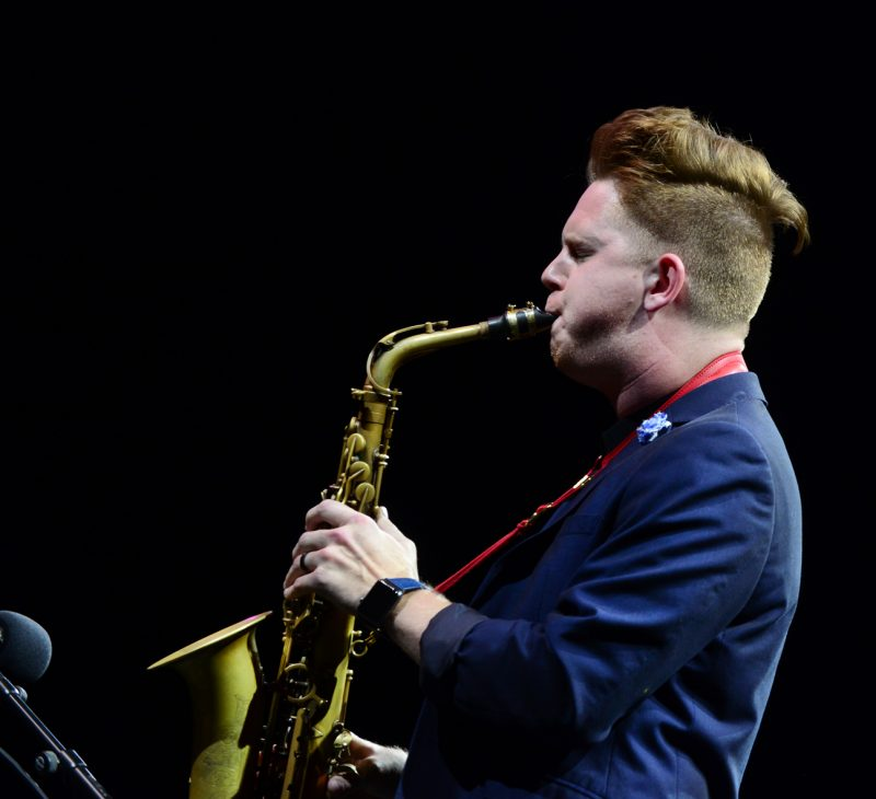 Alex Hahn - Winner of the 2019 Michael Brecker International Saxophone Competition.