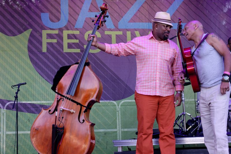 Photos: Backstage at New Jersey's Montclair Jazz Festival