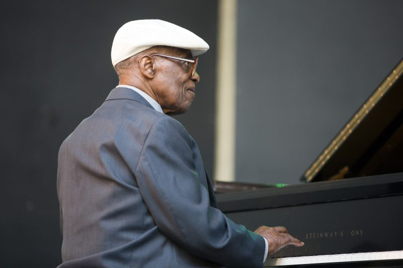 Norman Simmons at the Charlie Parker Jazz Festival