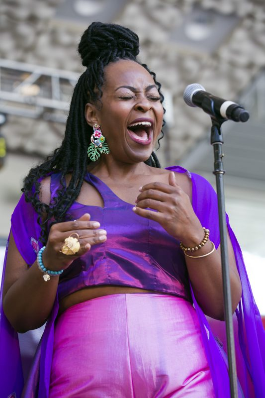 Quiana Lynell at the Charlie Parker Jazz Festival