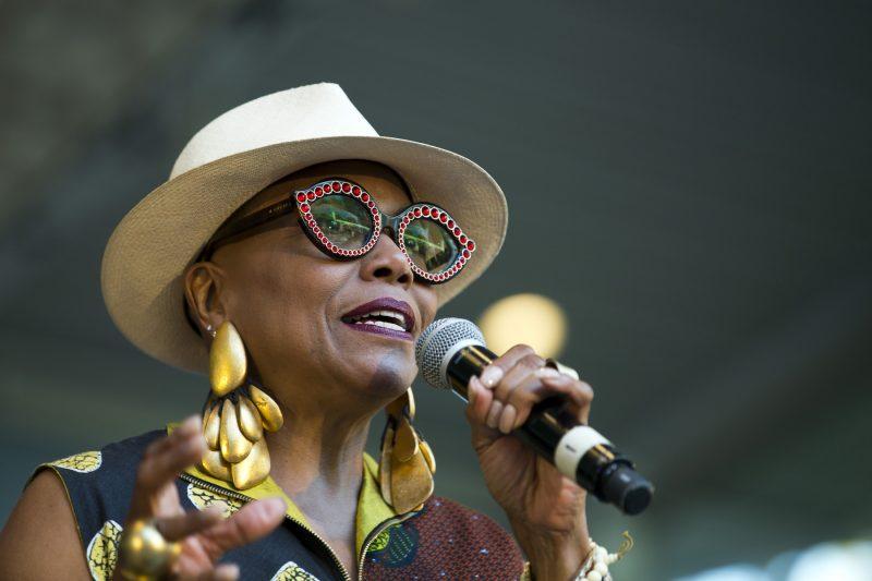 Dee Dee Bridgewater at the Charlie Parker Jazz Festival
