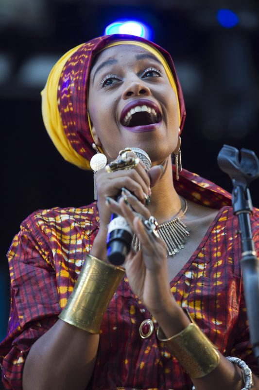 Jazzmeia Horn at the Charlie Parker Jazz Festival