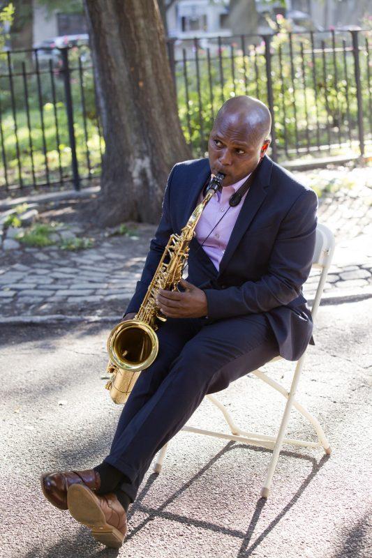 JD Allen at the Charlie Parker Jazz Festival