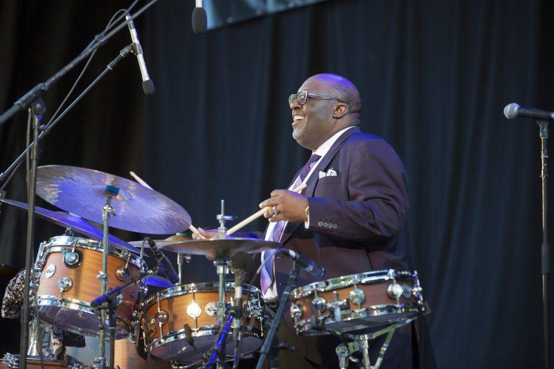 Carl Allen at the Charlie Parker Jazz Festival