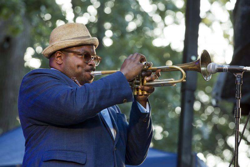 Jeremy Pelt at the Charlie Parker Jazz Festival