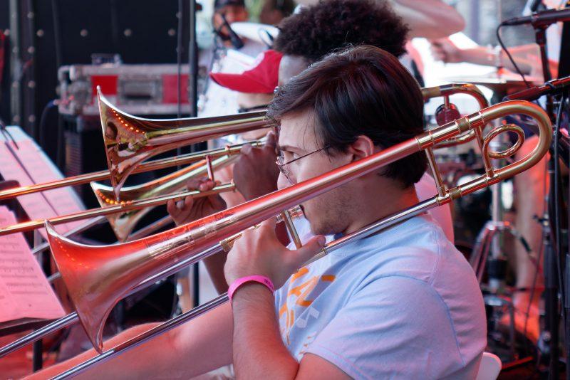 Jazz House Kids students perform. (photo: Bob Beucler)