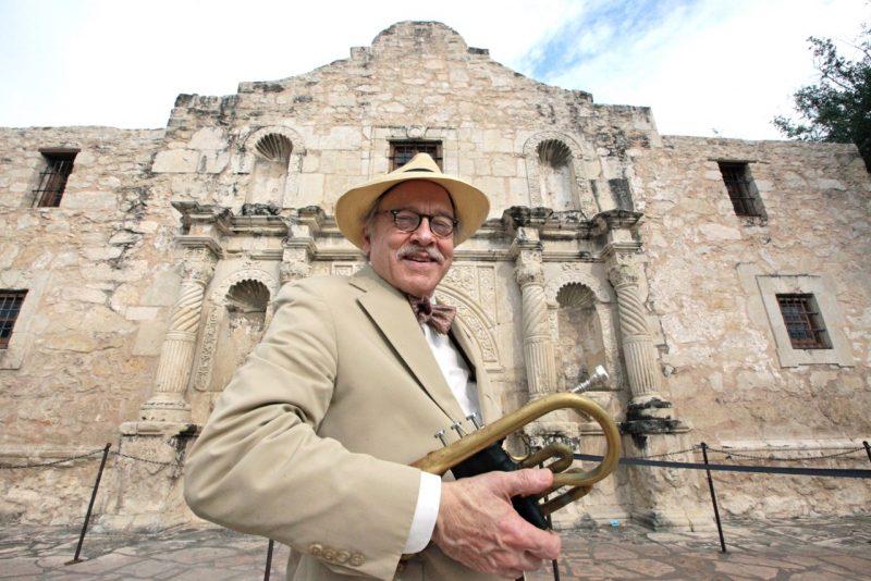 Jim Cullum at the Alamo