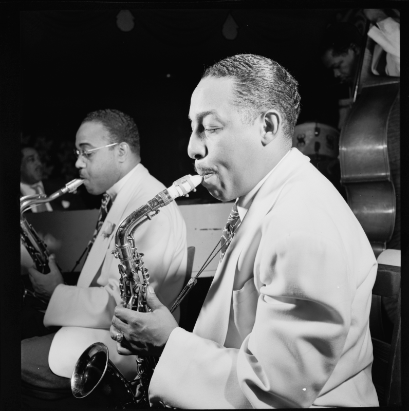 Johnny Hodges (photo: William Gottlieb)