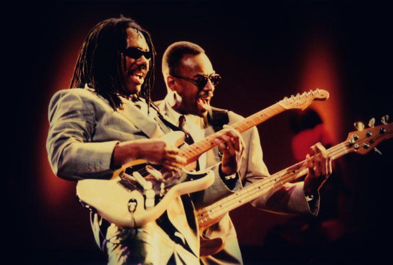Nile Rodgers and Bernard Edwards, 1996