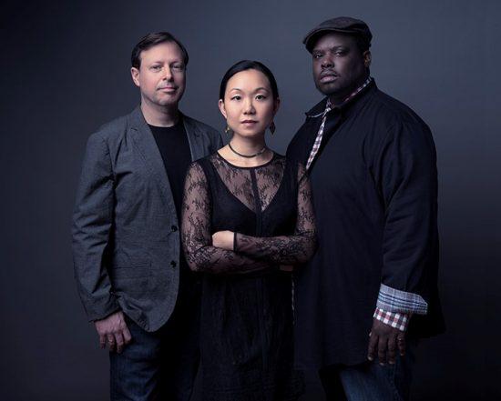Chris Potter, Linda May Han Oh and Johnathan Blake (photo by Jimmy Katz)