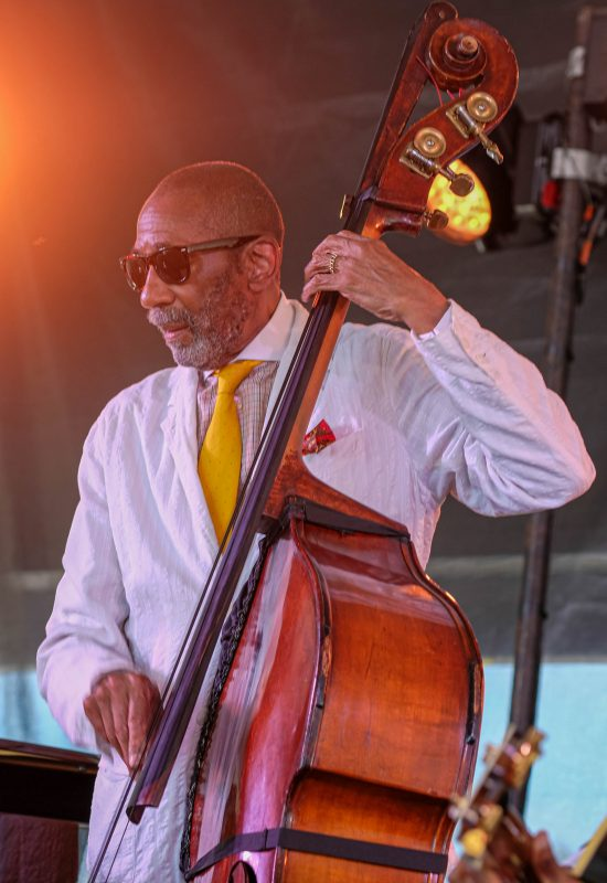 Ron Carter at the Newport Jazz Festival, August 3, 2019