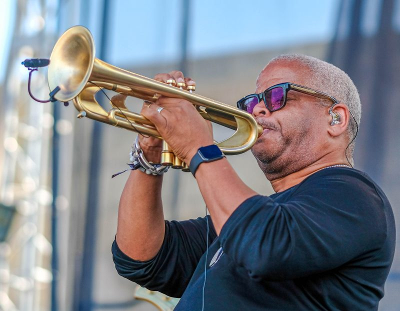 Terence Blanchard at the Newport Jazz Festival, August 4, 2019