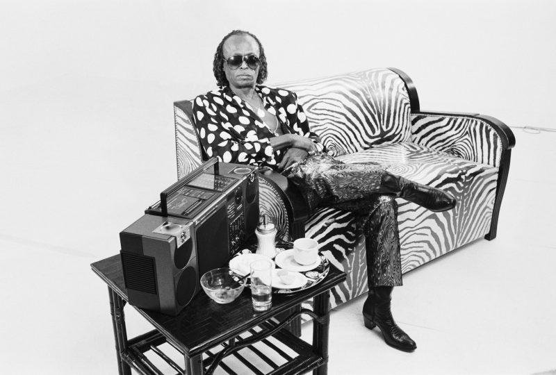 Miles Davis in 1986. (photo: Suzanne Rault Balet)