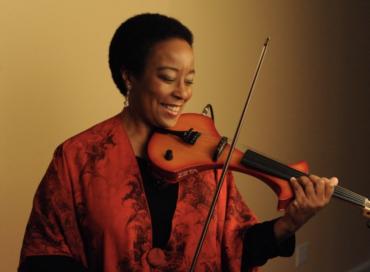Violin Woman, African Dreams