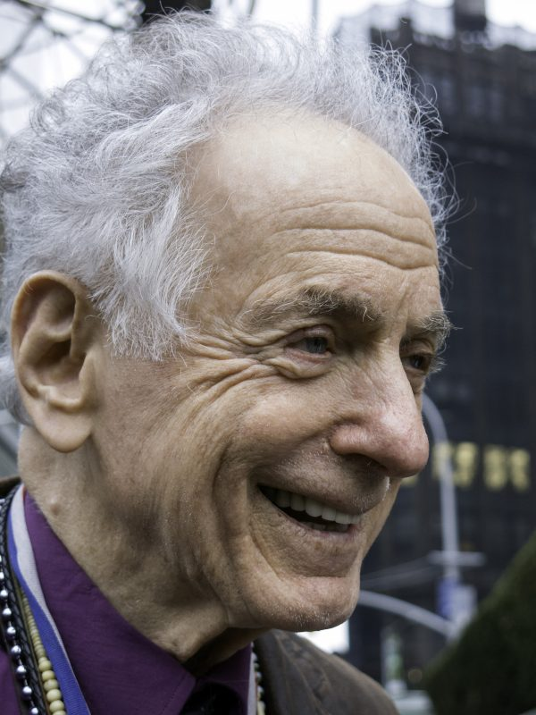 David Amram on the French horn