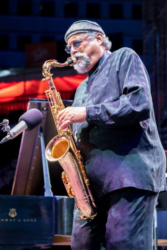 Joe Lovano at the 2019 Detroit Jazz Festival