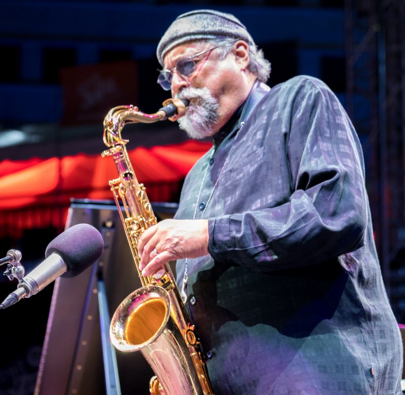 Joe Lovano at the 2019 Detroit Jazz Festival