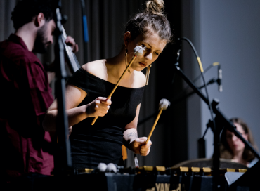 Vibraphonist Sasha Berliner Finds Her Own Groove