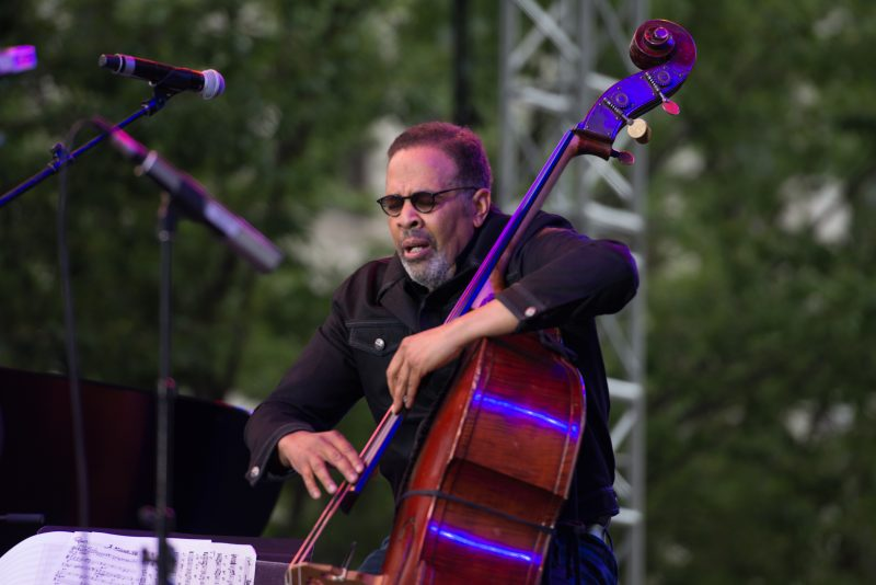 Stanley Clarke at the 2019 Detroit Jazz Festival