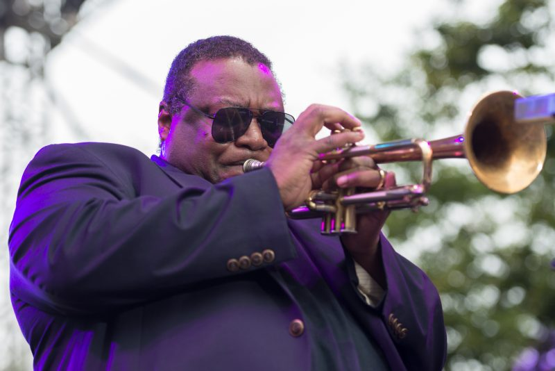 Wallace Roney at the 2019 Detroit Jazz Festival