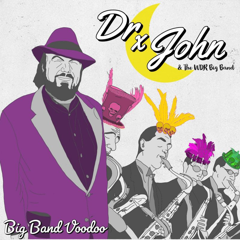 Cover of Big Band Voodoo album by Dr. John and the WDR Big Band
