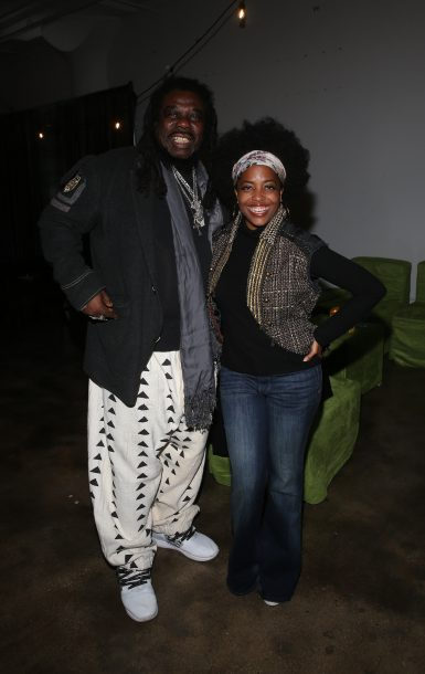 Rodney Kendrick and Rhonda Ross