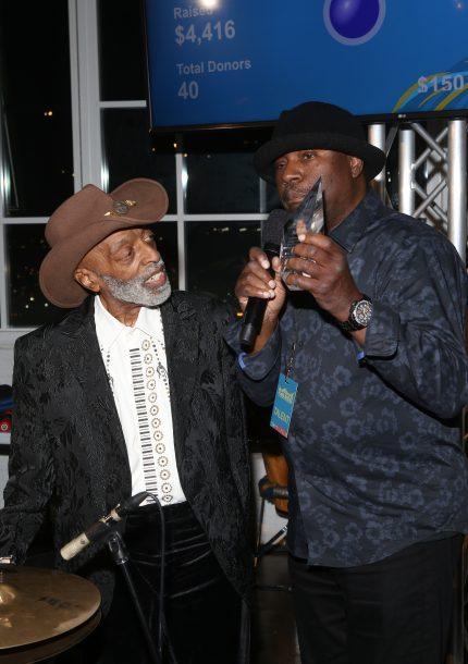 Roy Haynes and Lenny White