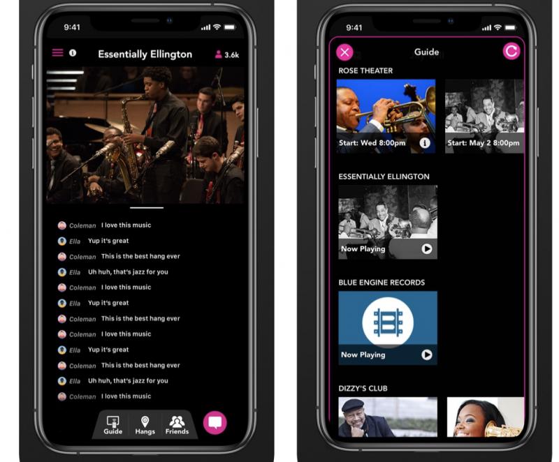 Jazz Live app
