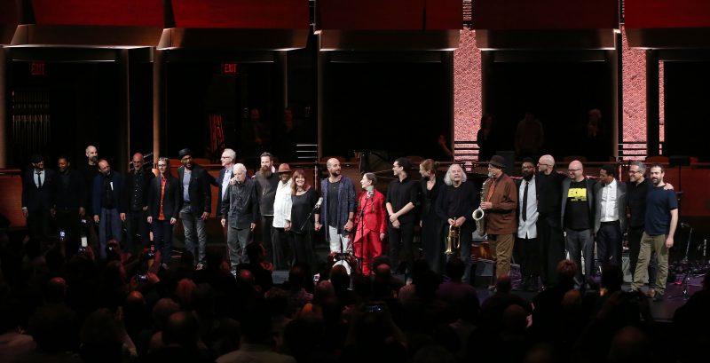 Curtain call at the ECM 50 concert