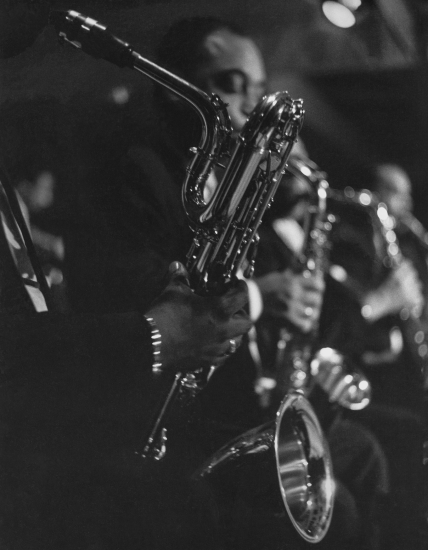 Horn Section Newport 1956_Roy DeCarava