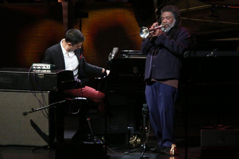 Vijay Iyer and Wadada Leo Smith at the ECM 50 concert