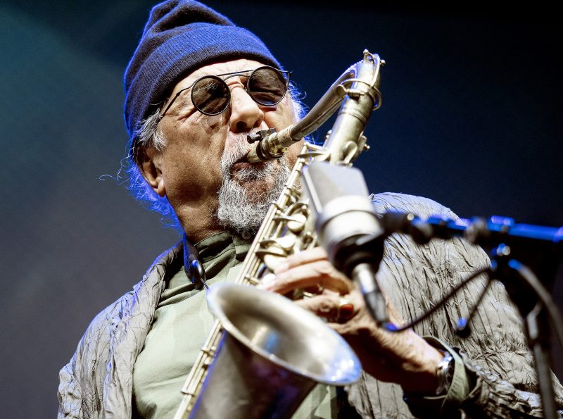 Charles Lloyd at the 2019 Belgrade Jazz Festival
