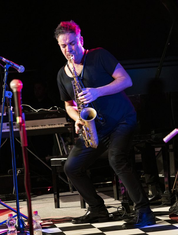 Maciej Obara at the 2019 Belgrade Jazz Festival