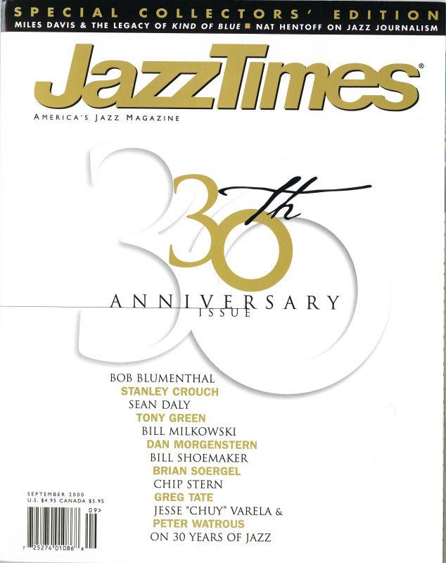 JazzTimes September 2000