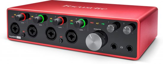 Focusrite Scarlett 18i8 3rd Gen USB Interface