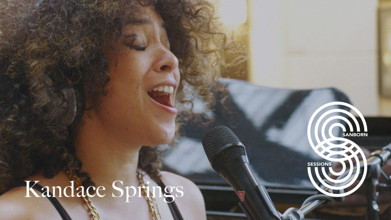 Kandace Springs on Sanborn Sessions
