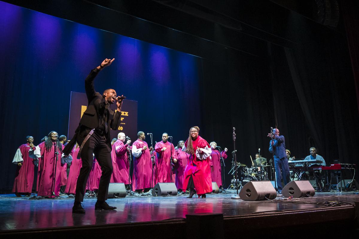 Every Praise & Virginia Union Gospel Choir