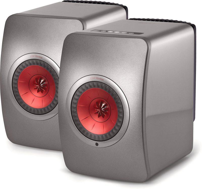 KEF LS50 Wireless Active Speakers