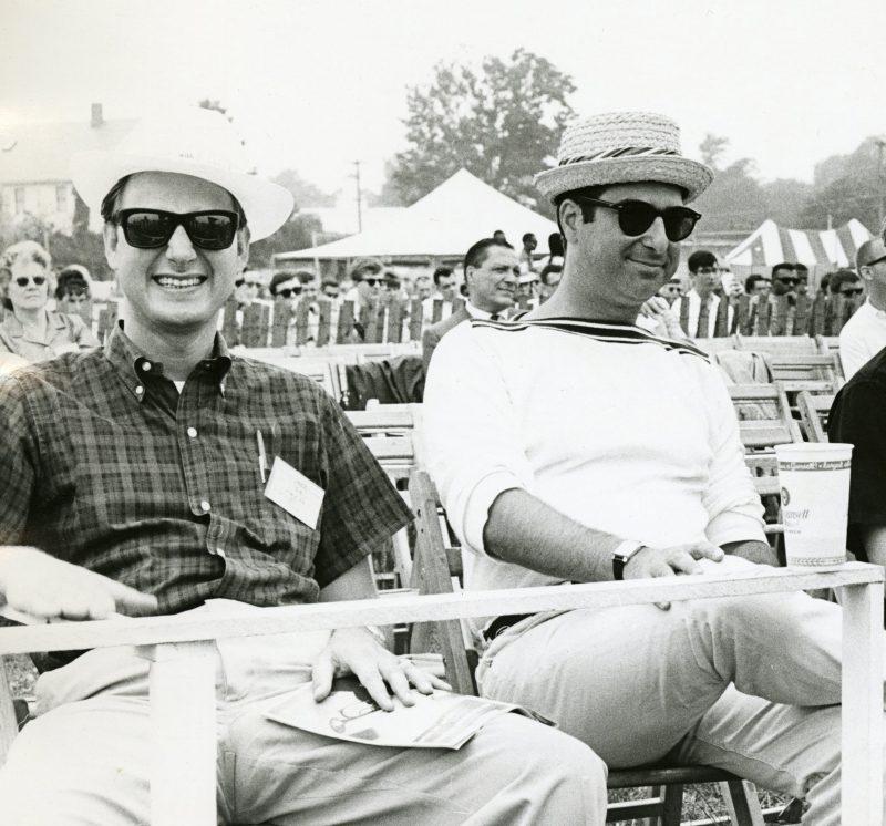 Dan Morgenstern and Ira Gitler