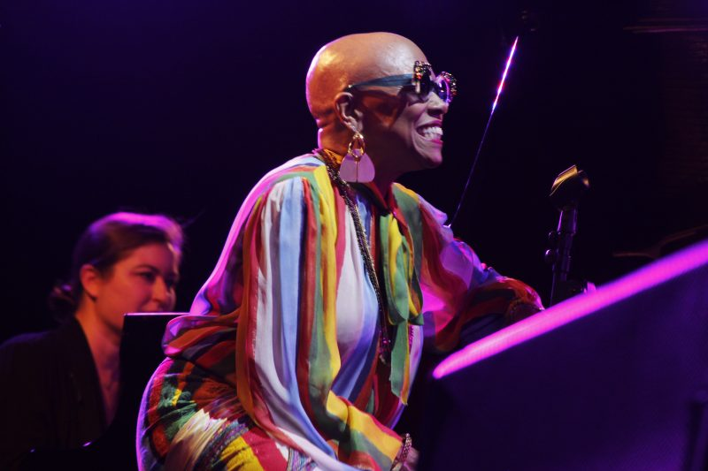 Carmen Staaf and Dee Dee Bridgewater