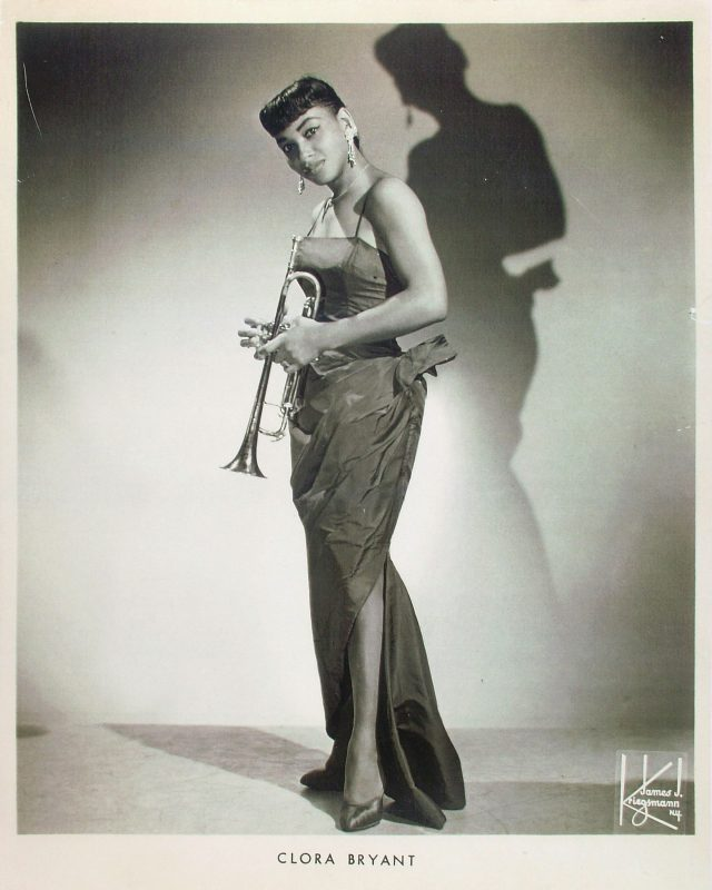 Clora Bryant in a 1950s publicity shot
