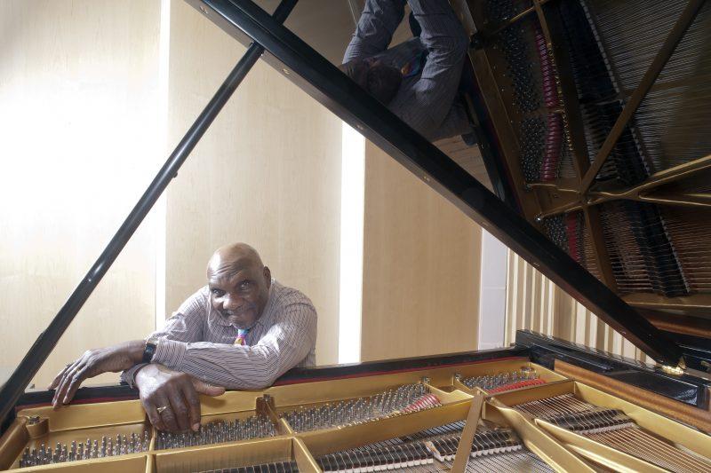 Harold Mabern in 2012 (photo: Alan Nahigian)