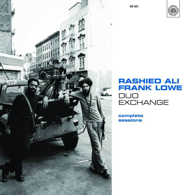 Cover of Rashied Ali/Frank Lowe album Duo Exchange: Complete Sessions