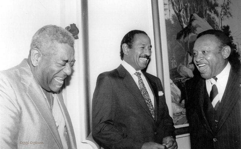 Dizzy Gillespie, John Conyers, Lionel Hampton