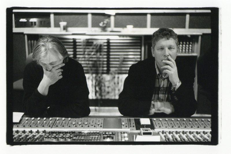 Manfred Eicher and Jan Erik Kongshaug