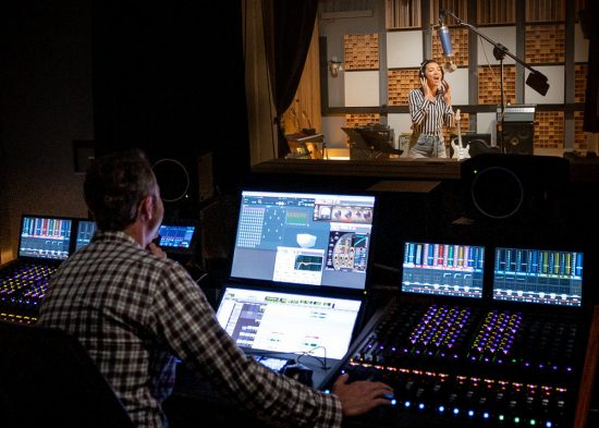 Recording with Dolby Atmos