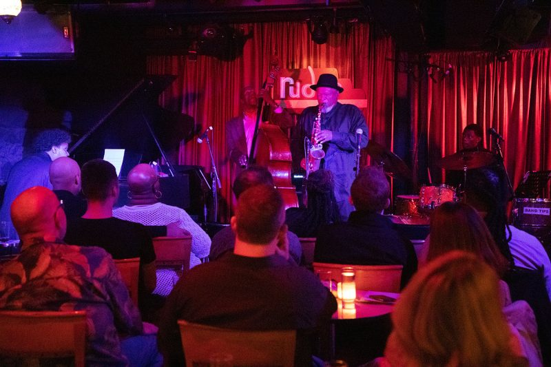 Bobby Watson and Curtis Lundy perform at Rudy's Jazz Room